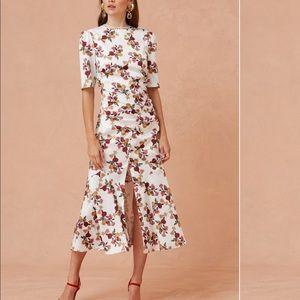 Keepsake Everlasting Floral Midi Dress